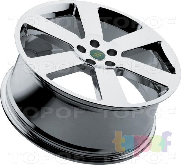 Колесные диски Redbourne Saxon. Хромированный