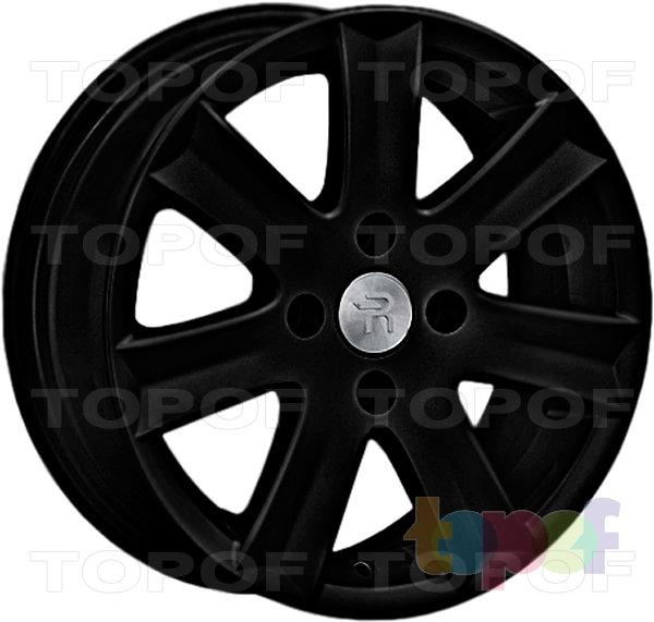 Колесные диски Replay (Replica LS) Ci49. Цвет - черный матовый