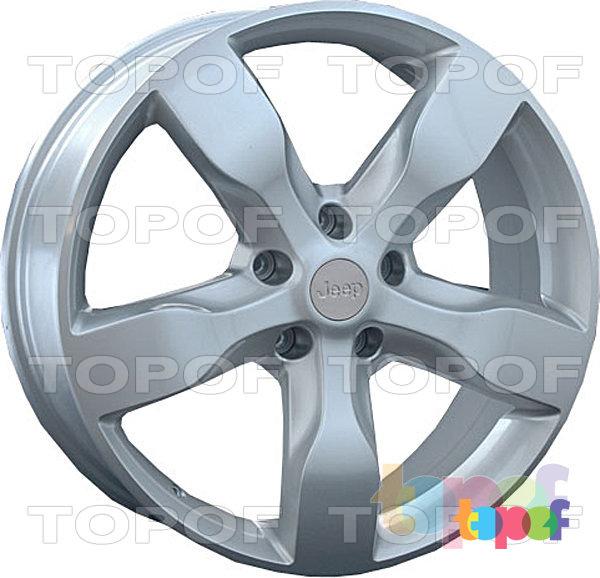 Колесные диски Replay (Replica LS) CR8. Цвет - серебряный