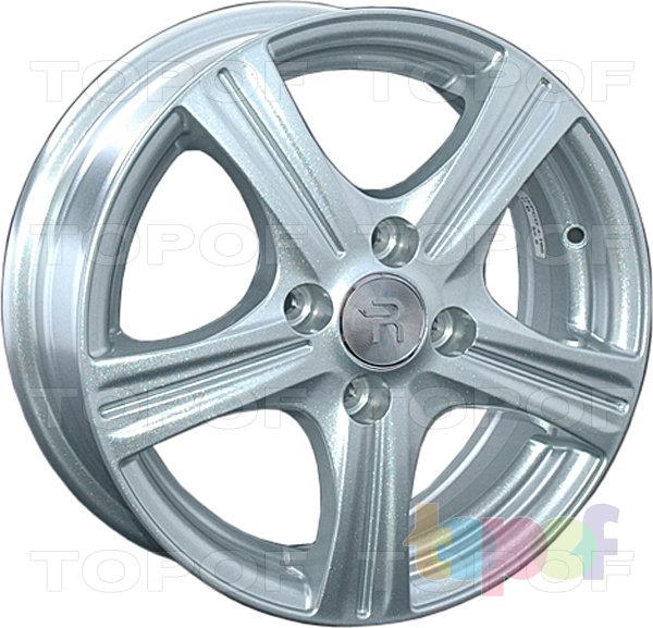 Колесные диски Replay (Replica LS) FA4. Цвет - серебряный