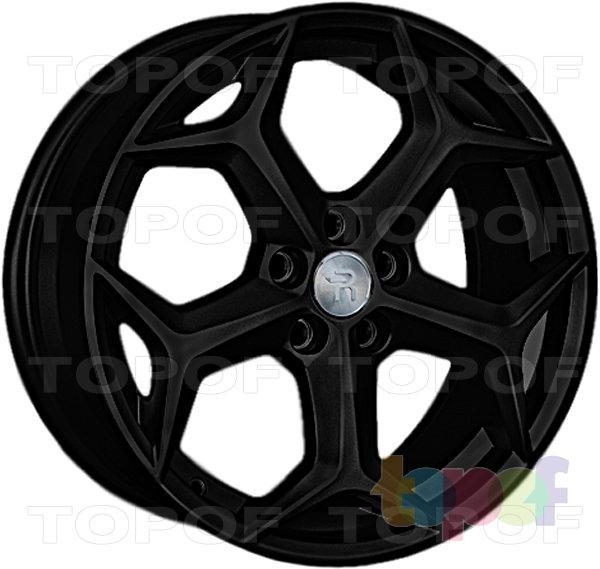 Колесные диски Replay (Replica LS) FD74. Цвет - черный матовый