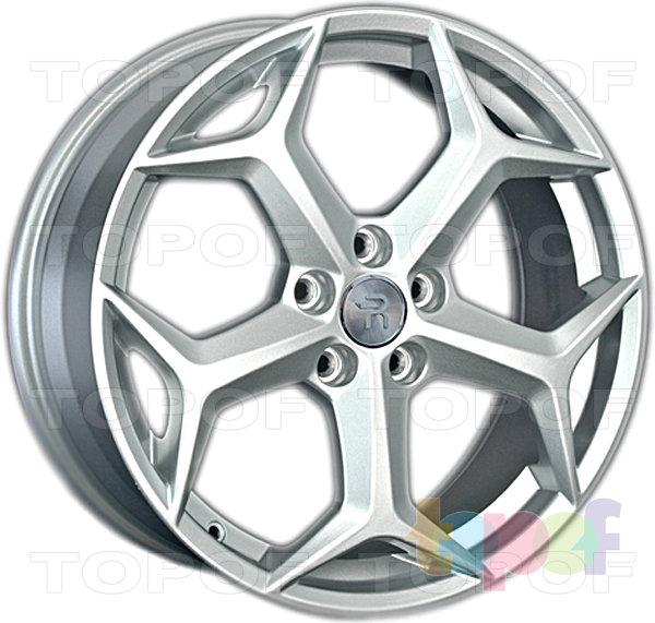 Колесные диски Replay (Replica LS) FD74. Цвет серебряный