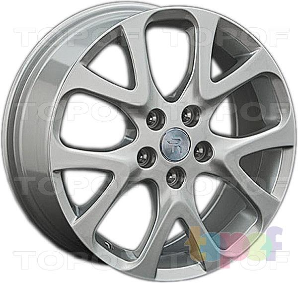 Колесные диски Replay (Replica LS) FD84. Цвет серебряный