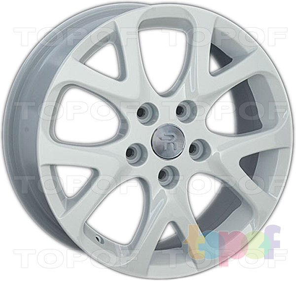 Колесные диски Replay (Replica LS) FD84. Цвет - белый