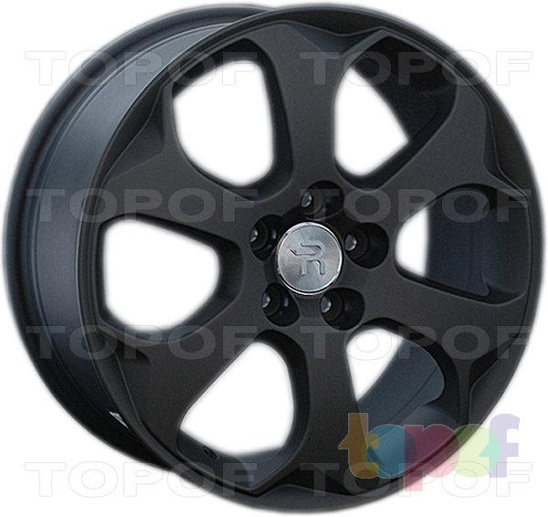 Колесные диски Replay (Replica LS) FD87. Цвет - черный матовый