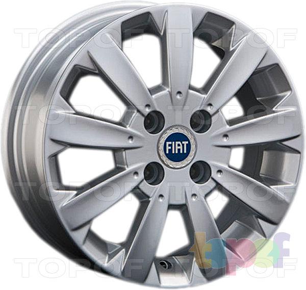 Колесные диски Replay (Replica LS) FT4. Цвет - серебряный