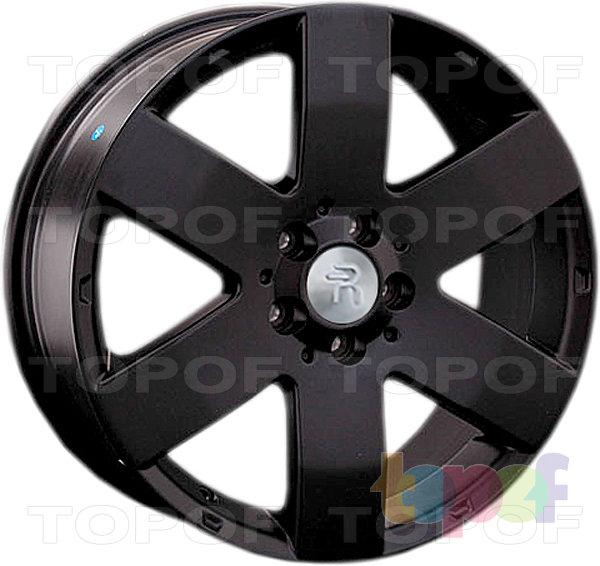 Колесные диски Replay (Replica LS) GN20 (GM20). Цвет - черный матовый