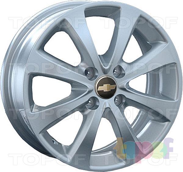 Колесные диски Replay (Replica LS) GN40 (GM40). Цвет - серебряный
