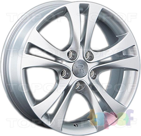 Колесные диски Replay (Replica LS) GN65 (GM65). Цвет серебряный