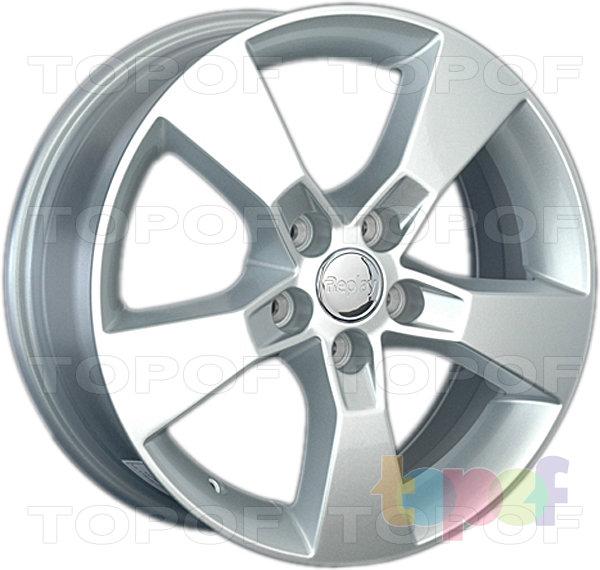 Колесные диски Replay (Replica LS) GN70 (GM70). Цвет - серебряный