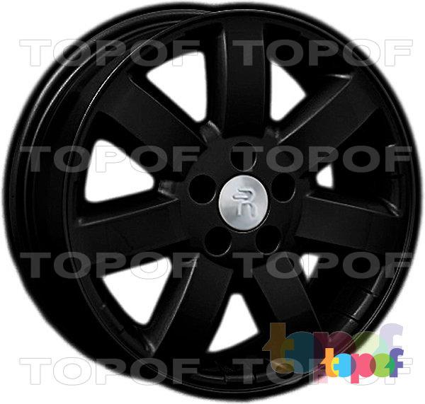 Колесные диски Replay (Replica LS) H14. Цвет - черный матовый
