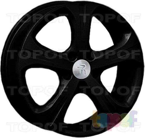 Колесные диски Replay (Replica LS) H15. Цвет - черный матовый