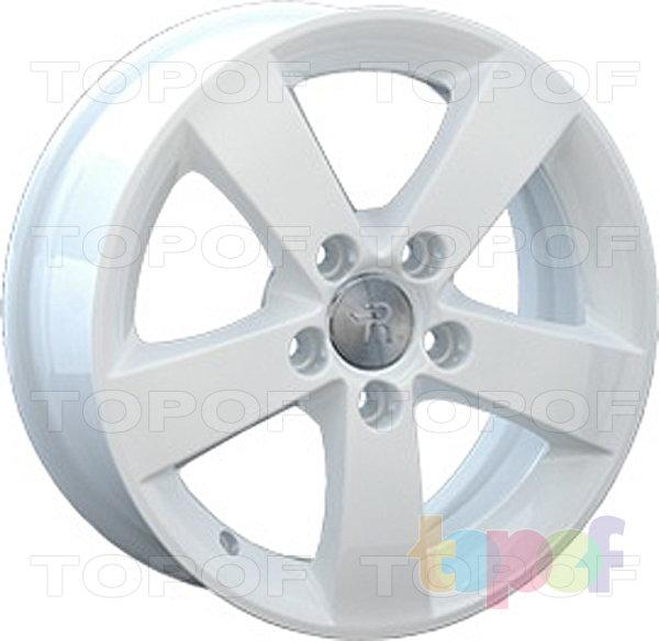 Колесные диски Replay (Replica LS) H19. Цвет - белый