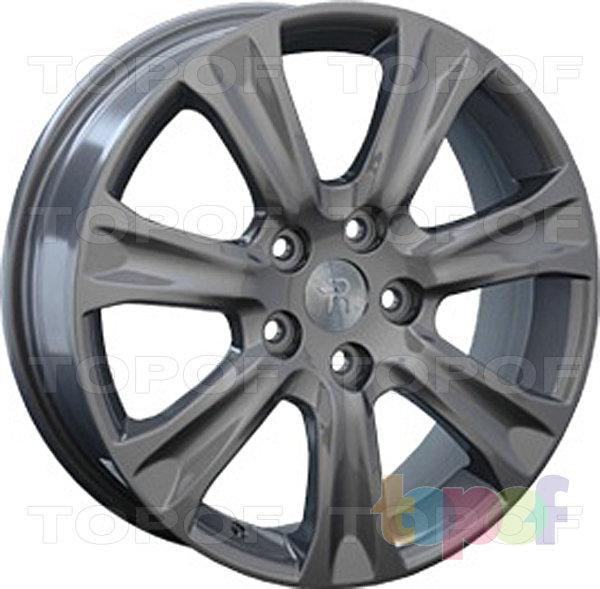 Колесные диски Replay (Replica LS) H22. Цвет темно серый
