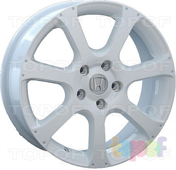 Колесные диски Replay (Replica LS) H23. Цвет - белый