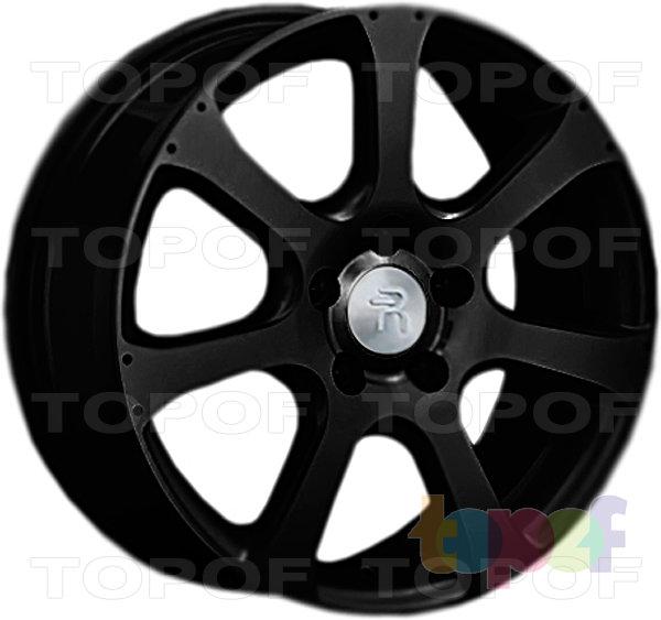 Колесные диски Replay (Replica LS) H23. Цвет - черный матовый