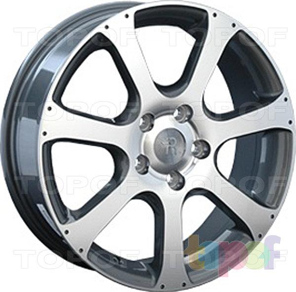 Колесные диски Replay (Replica LS) H23. Цвет GMF