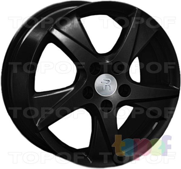 Колесные диски Replay (Replica LS) H24. Цвет - черный матовый
