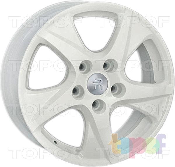 Колесные диски Replay (Replica LS) H24. Цвет - белый