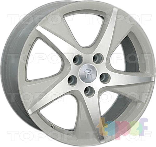 Колесные диски Replay (Replica LS) H24. Цвет - белый полированный