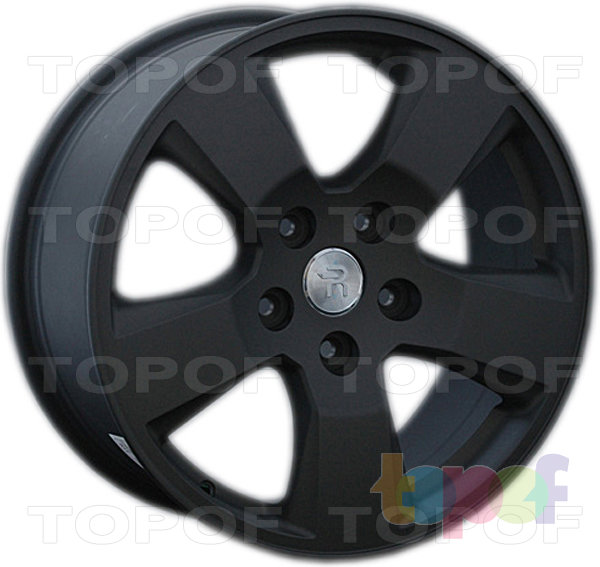 Колесные диски Replay (Replica LS) H31. Цвет - черный матовый