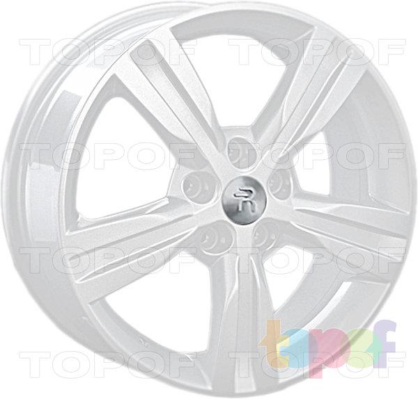 Колесные диски Replay (Replica LS) H50. Цвет - белый
