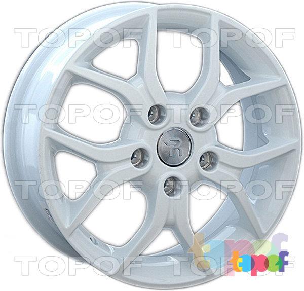 Колесные диски Replay (Replica LS) H63. Цвет - белый
