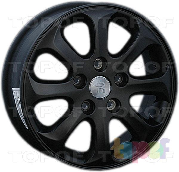 Колесные диски Replay (Replica LS) H64. Цвет - черный матовый