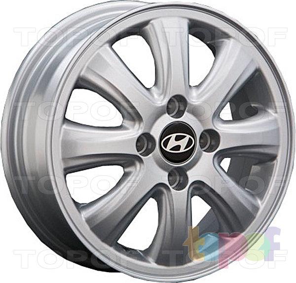 Колесные диски Replay (Replica LS) HND22. Цвет - Silver