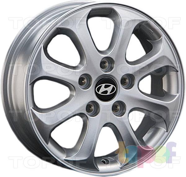 Колесные диски Replay (Replica LS) HND23. Цвет - Silver