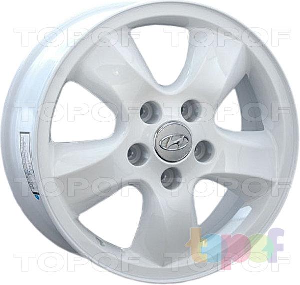 Колесные диски Replay (Replica LS) HND25. Цвет - белый