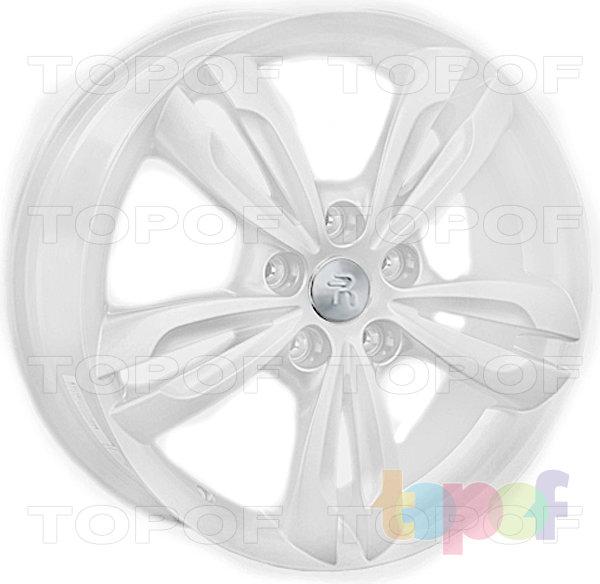 Колесные диски Replay (Replica LS) HND40. Цвет - белый