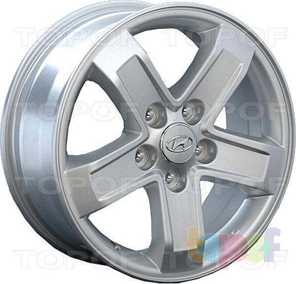 Колесные диски Replay (Replica LS) HND42. Цвет - серебряный