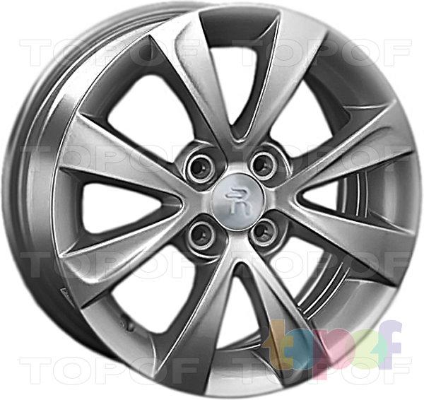 Колесные диски Replay (Replica LS) HND68. Цвет - Gun Metal