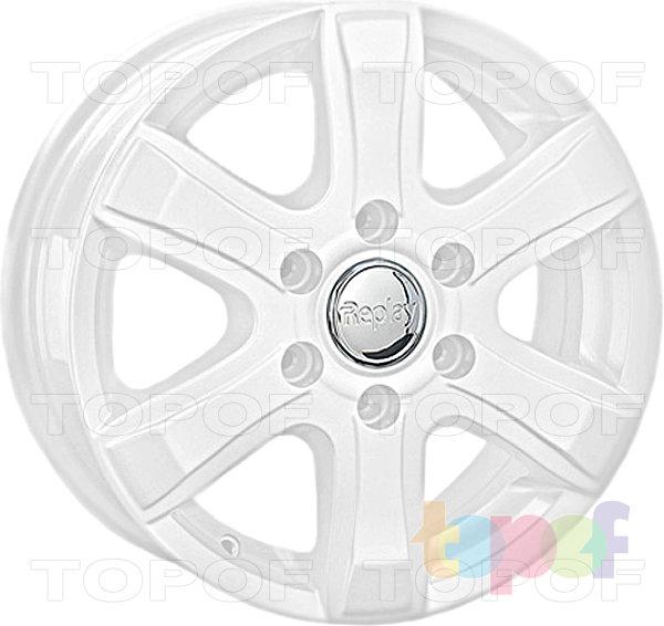 Колесные диски Replay (Replica LS) HND78. Цвет - белый