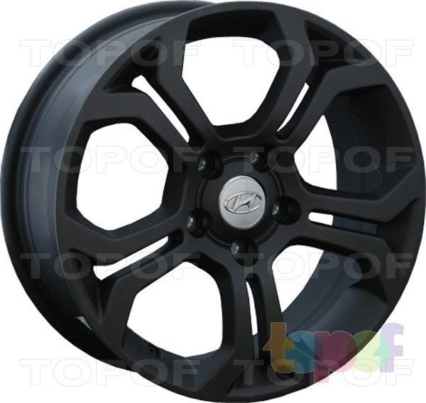 Колесные диски Replay (Replica LS) HND85. Цвет - черный матовый