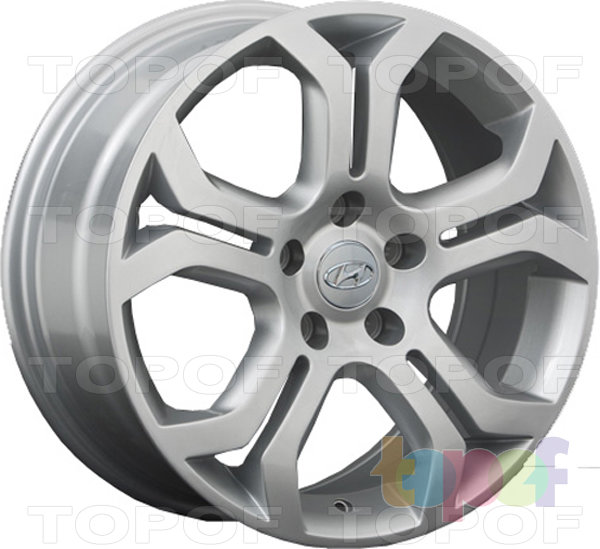 Колесные диски Replay (Replica LS) HND85. Цвет - Silver