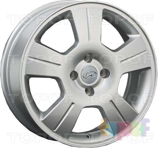 Колесные диски Replay (Replica LS) HND96. Цвет - Silver