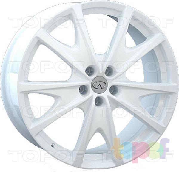 Колесные диски Replay (Replica LS) INF13. Цвет - белый