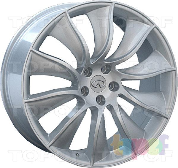 Колесные диски Replay (Replica LS) INF15. Цвет серебряный