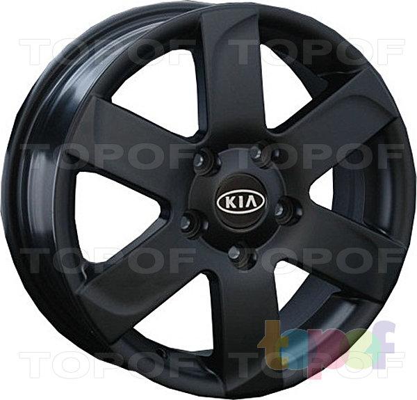 Колесные диски Replay (Replica LS) Ki12. Цвет - черный матовый