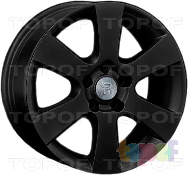 Колесные диски Replay (Replica LS) Ki125. Цвет - черный матовый