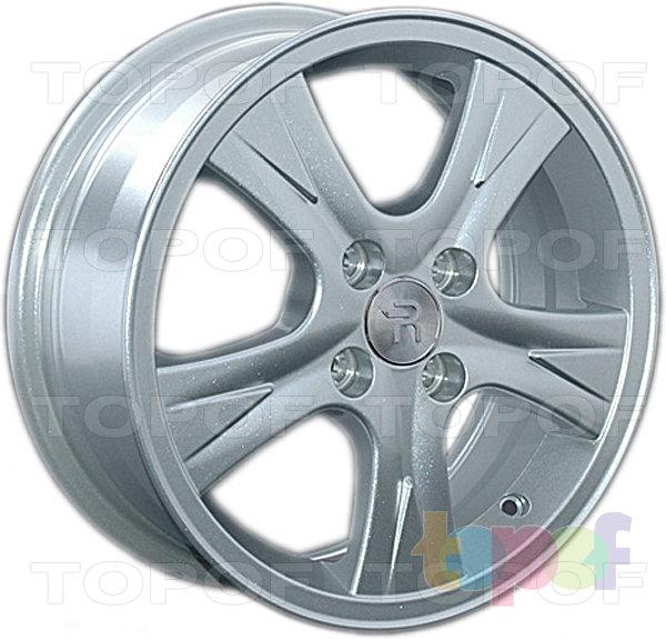 Колесные диски Replay (Replica LS) Ki127. Цвет - серебряный