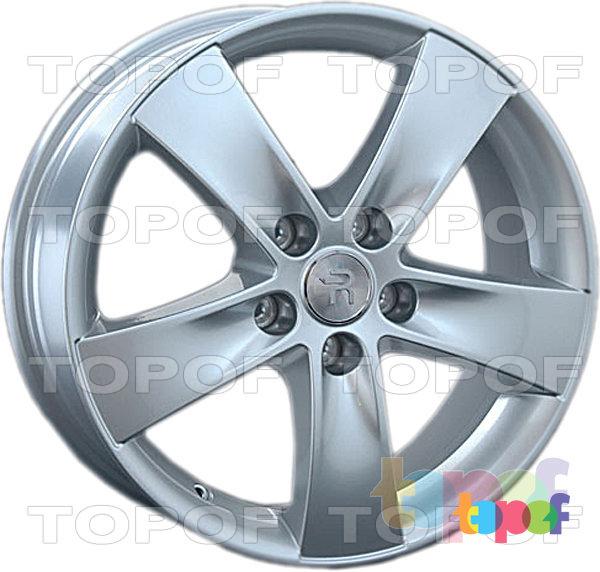 Колесные диски Replay (Replica LS) Ki128. Цвет - серебряный