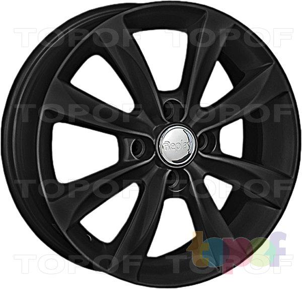 Колесные диски Replay (Replica LS) Ki142. Цвет - черный матовый