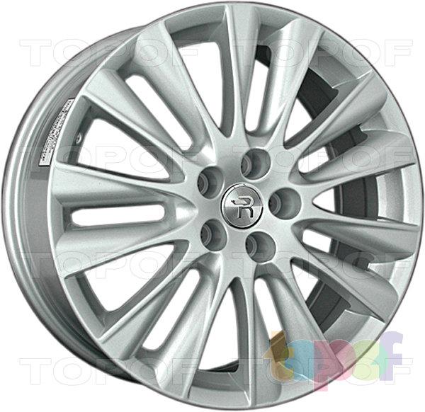 Колесные диски Replay (Replica LS) Ki154. Цвет - серебряный