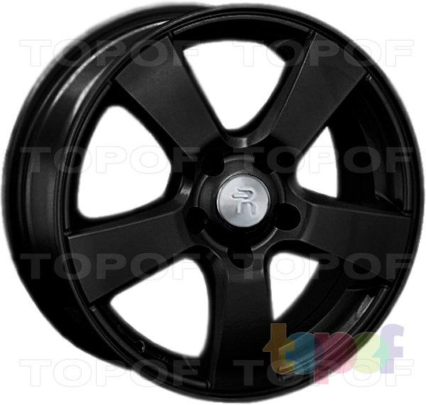 Колесные диски Replay (Replica LS) Ki22. Цвет - черный матовый