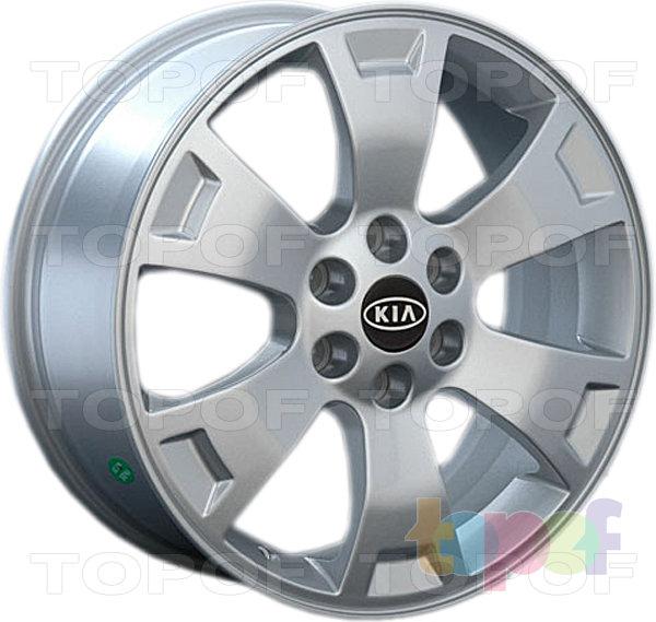 Колесные диски Replay (Replica LS) Ki24. Цвет - серебряный