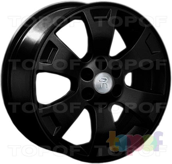Колесные диски Replay (Replica LS) Ki24. Цвет - черный матовый