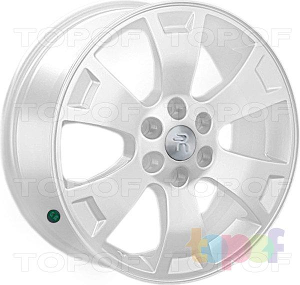 Колесные диски Replay (Replica LS) Ki24. Цвет - белый